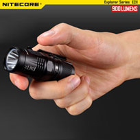 NITECORE EC11 900 Lumens brightest lampe torche mini