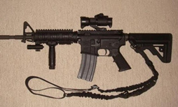 AR-15 viseur point rouge