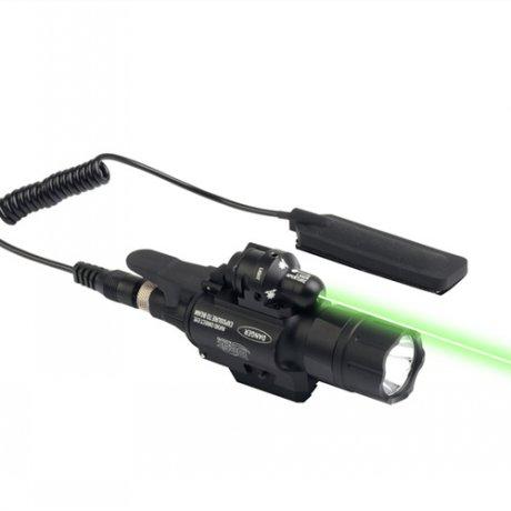JG-2 Laser vert 5mW et lampe 2 en 1