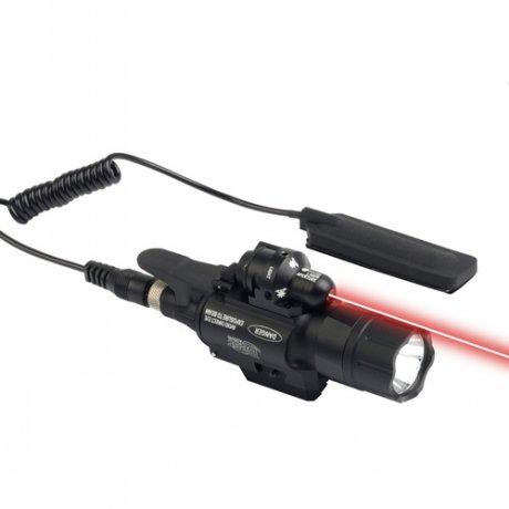 JG-2 Laser rouge 5mW et lampe 2 en 1