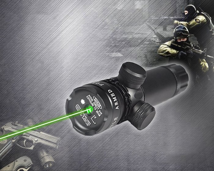 viseur laser vert
