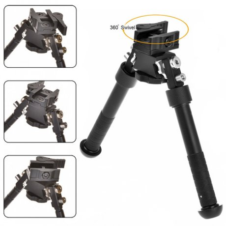 V8 Bipied 6-9 pouces rotatif stand
