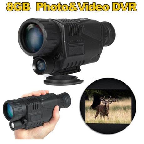 HD Monoculaire numérique de vision nocturne 5x40