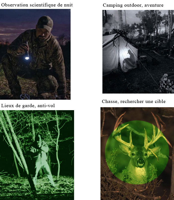 HD vision nocturne outdoor chasse