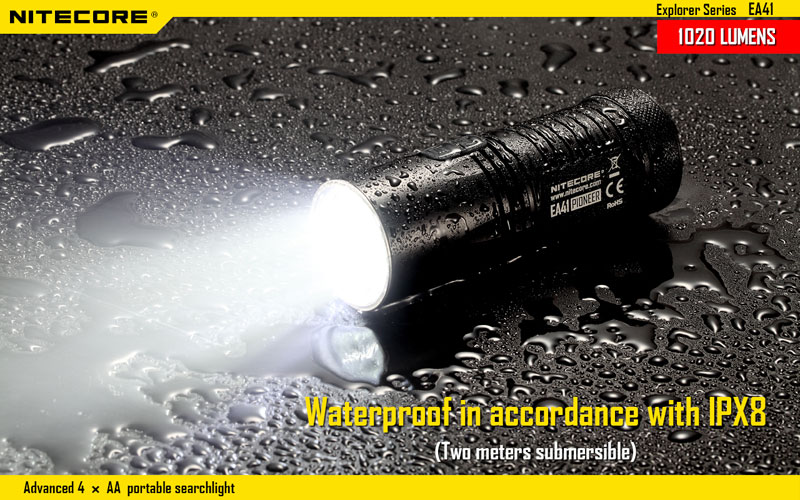 waterproof lampe torche