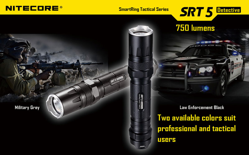 SRT5 lampe torche tactique