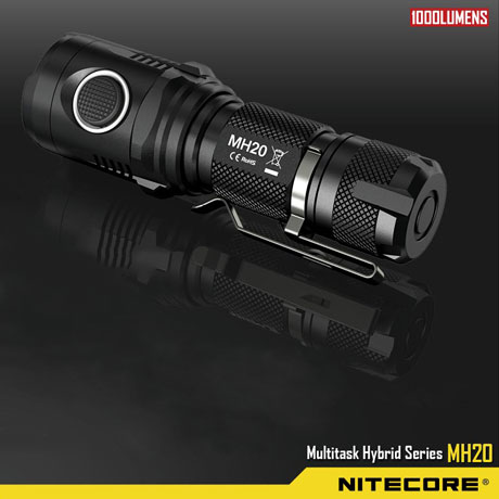 NITECORE MH20 1000 Lumens lampe torche rechargeable