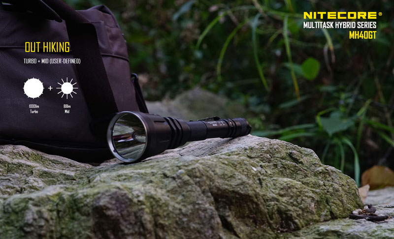 MH40GT 1000 lumens lampe torche