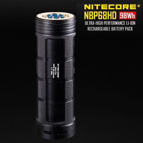 Batterie Nitecore NBP68HD 98Wh rechargeable