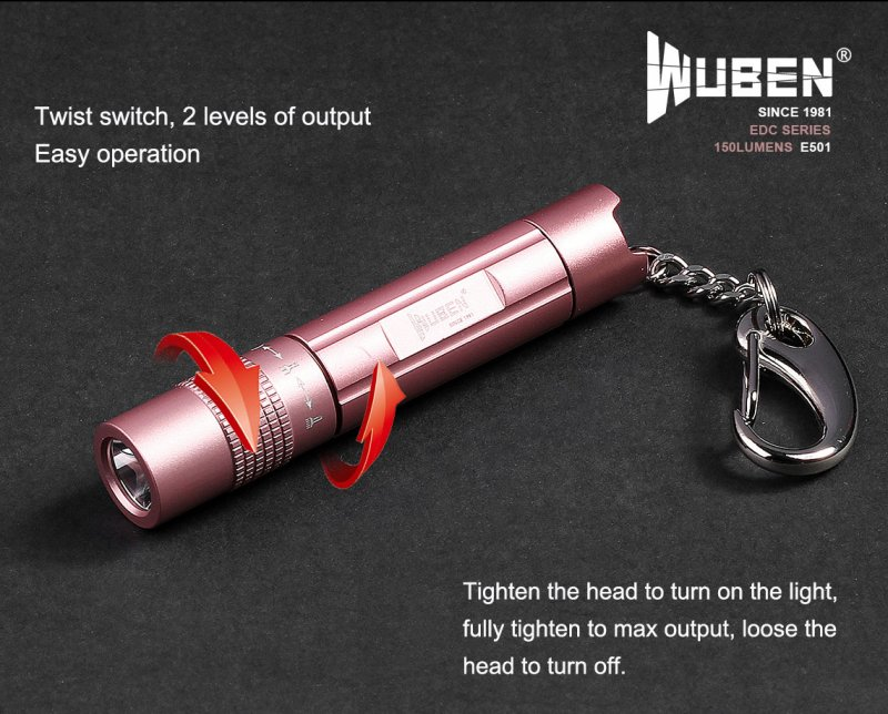 lampe torche zoomable